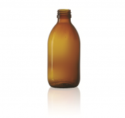GLASS BOTTLE 250 mL.