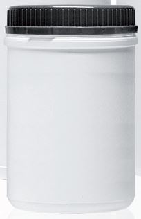 PLASTIC DRUM 1,3L, 2 internal bags.