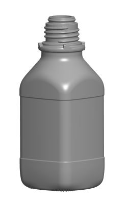 GLASS BOTTLE 250 mL ACIDS