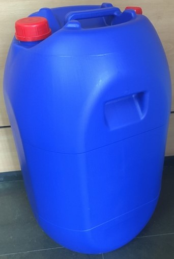 LIQUID PLASTIC DRUM 60 L blue color
