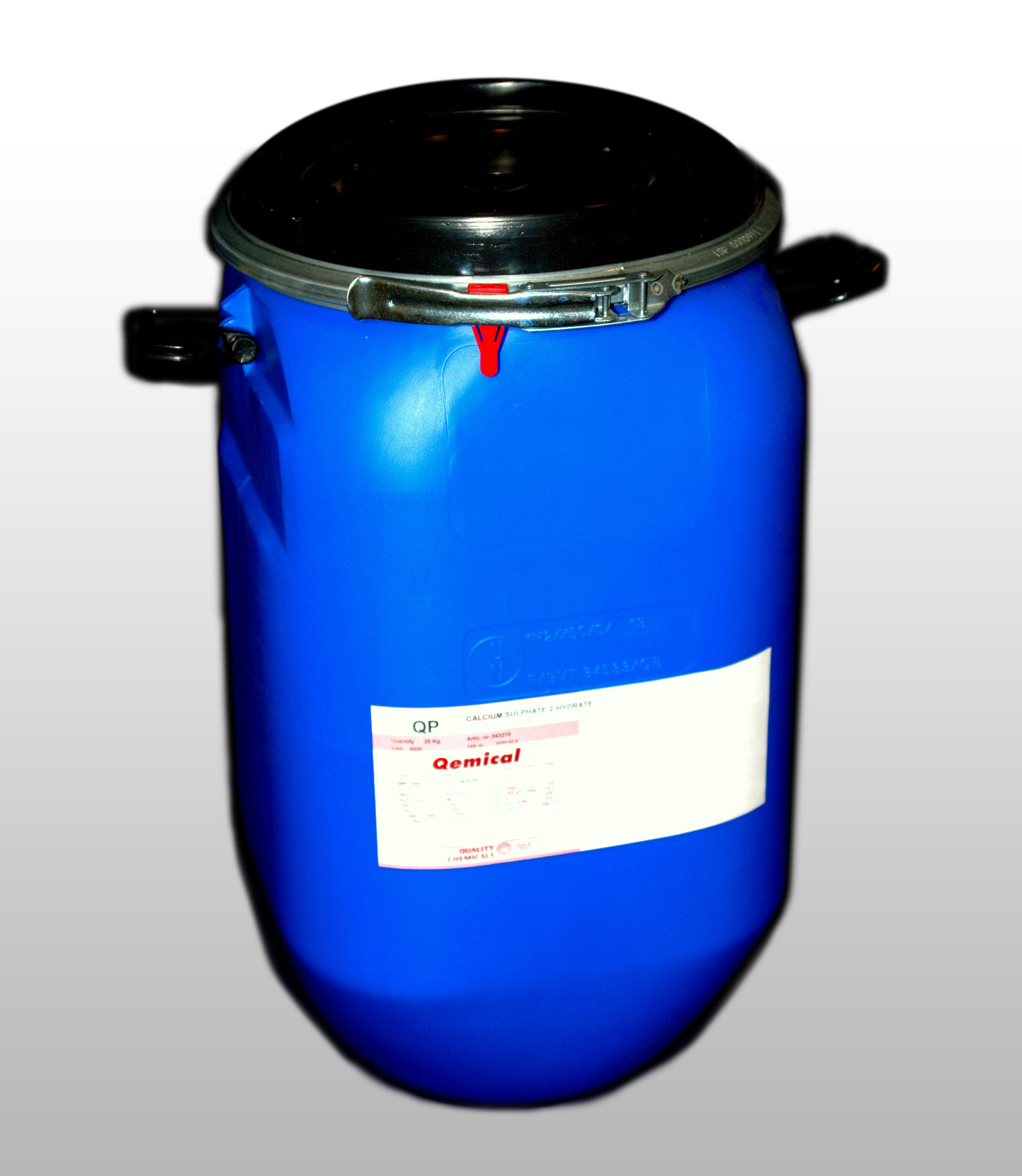 OPEN TOP PLASTIC DRUM 30 L (FOR SOLIDS) 2 internal bags