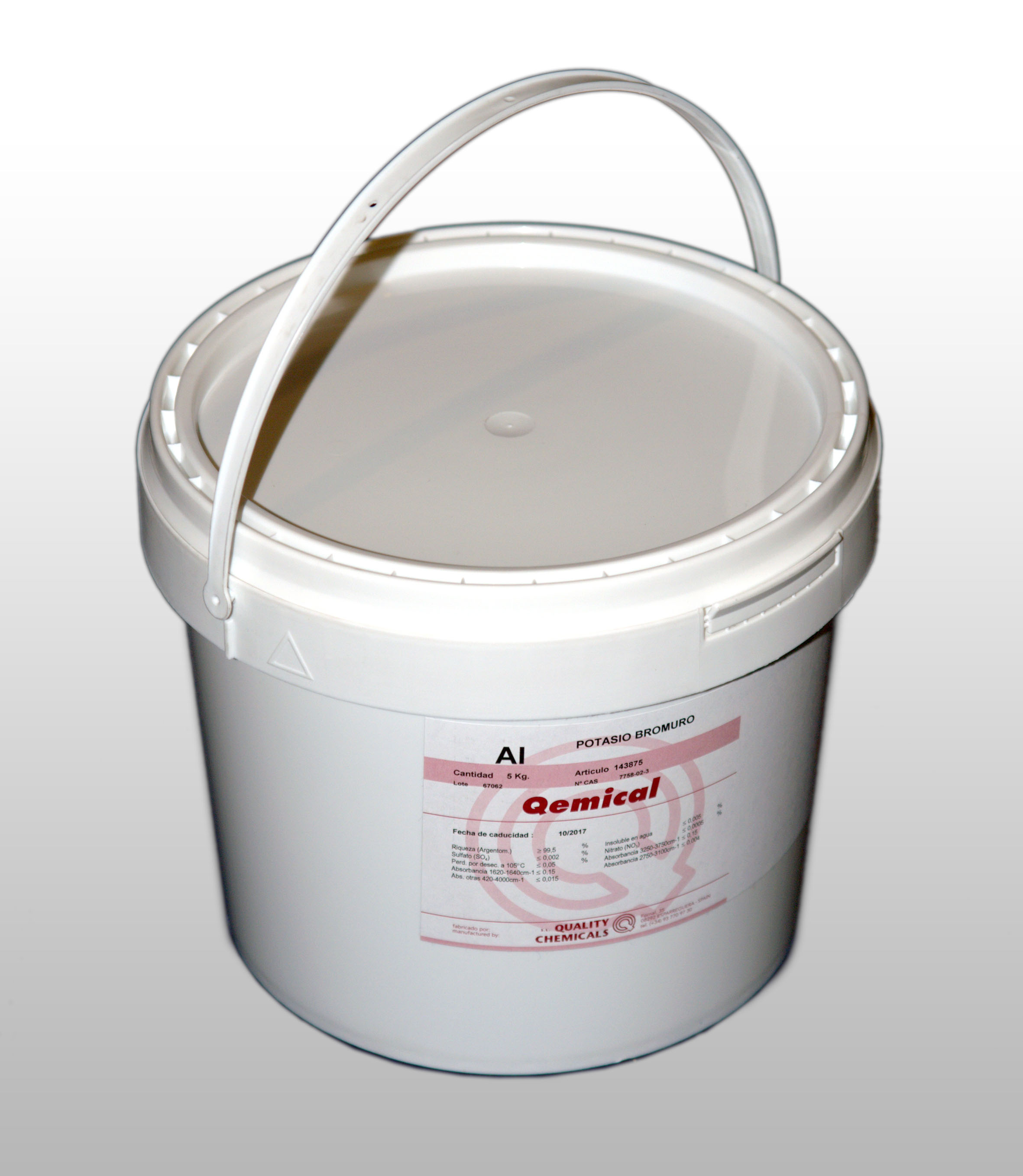 PLASTIC DRUM 5.5 L (FOR SOLIDS)