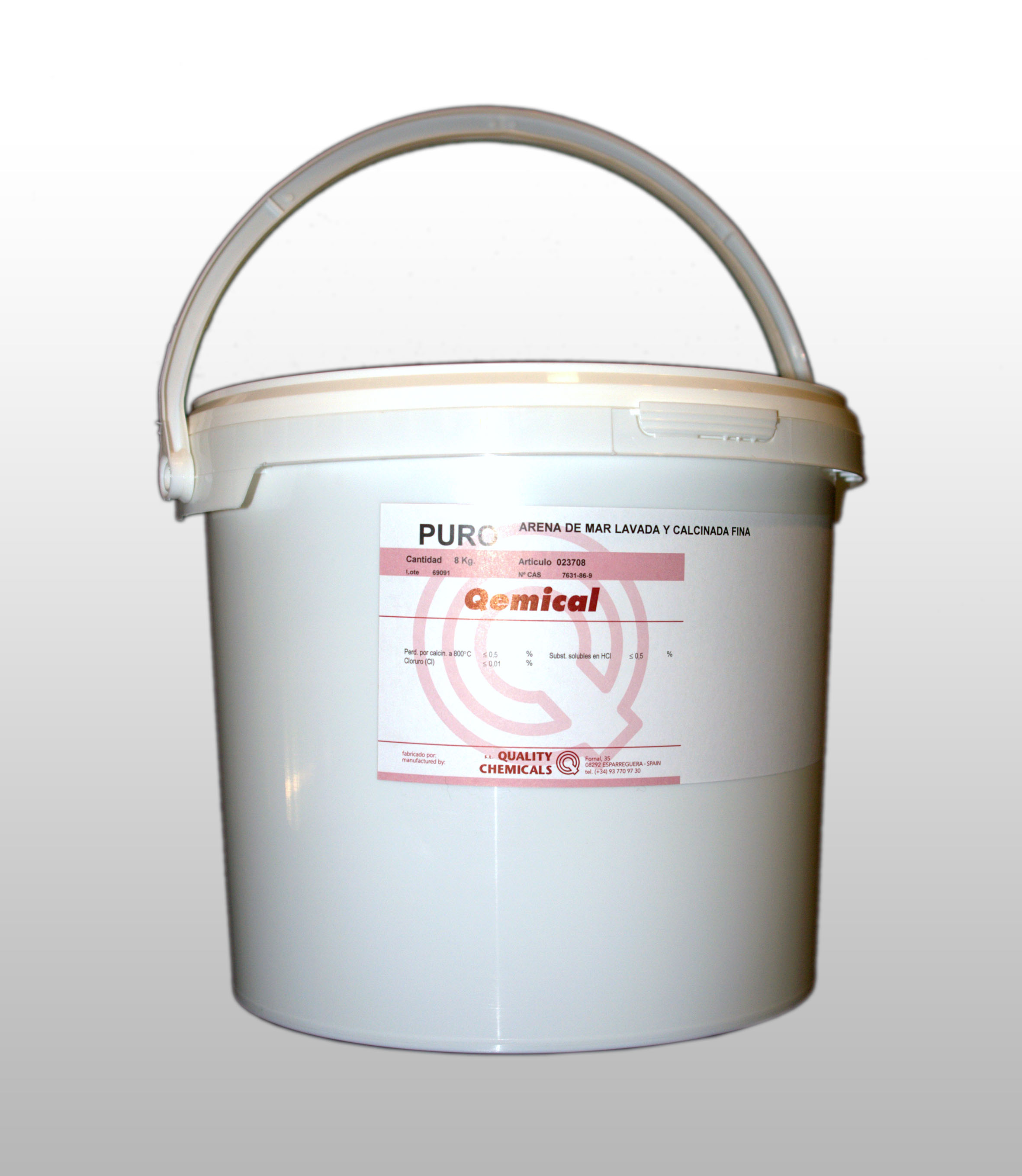 PLASTIC DRUM 10 L (FOR SOLIDS)