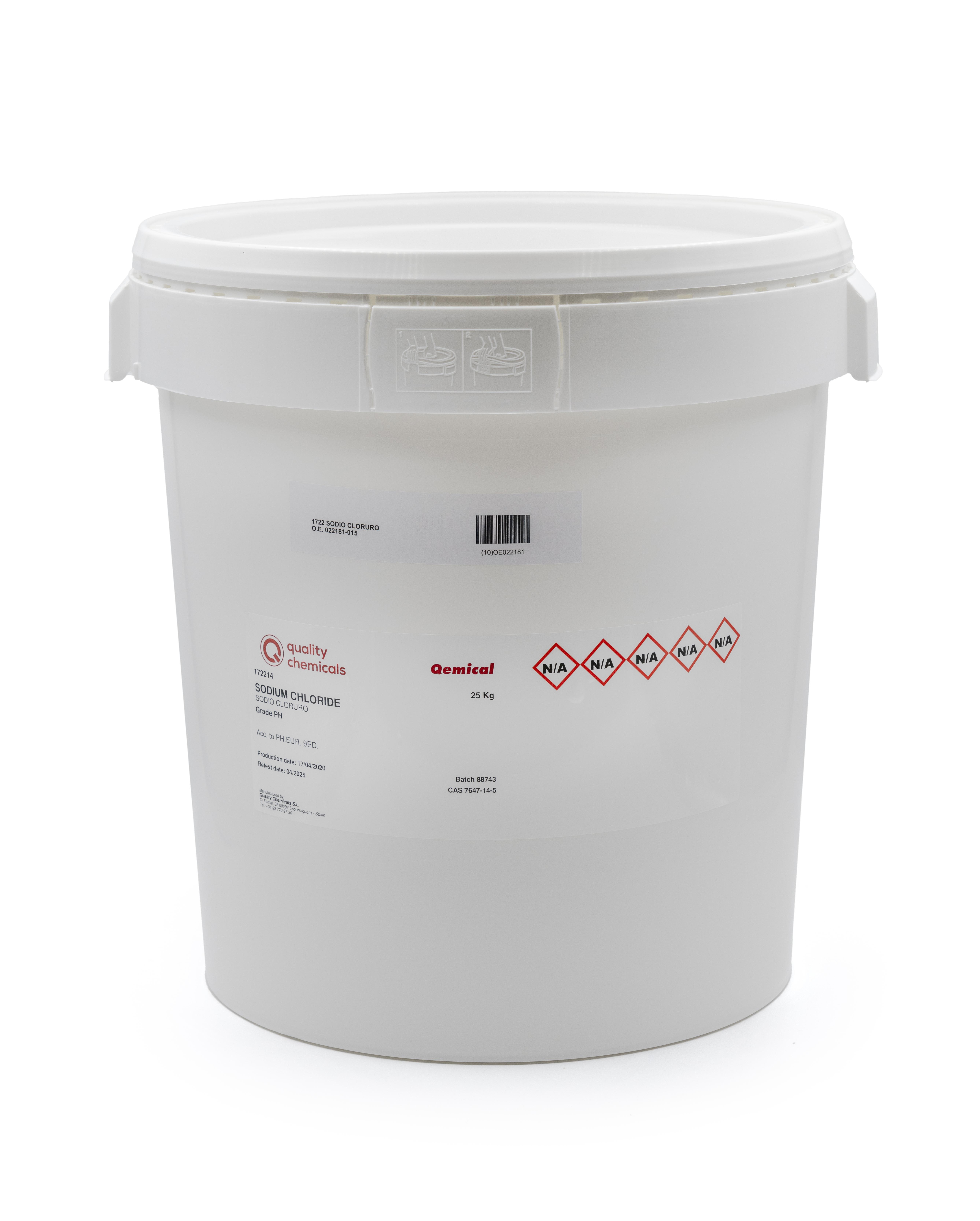 PLASTIC DRUM 30L/OT/2B+VAC